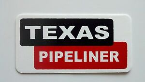 3-Texas-Pipeliner-Roughneck-Hard-Hat-Oil-Field-Tool-Box-Helmet-Sticker