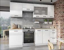 Muebles de Cocina Completa en Color Blanco 180 Y 240 Cms Ref-47