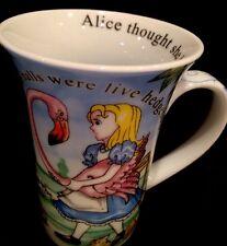 Alice In Wonderland & Red Queen Of Hearts Coffee Tea Cup Mug