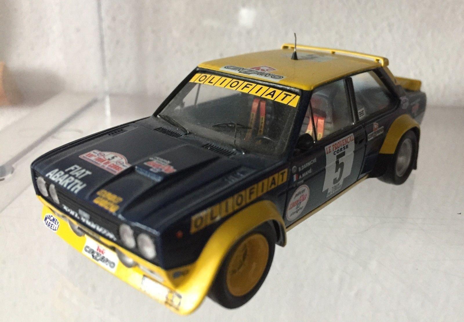 090 Fiat Fiat Fiat 131 2000 Abarth 5 Rally Tour de Corse