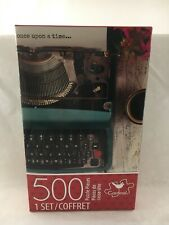 500 Piece Jigsaw Puzzle Vintage Typewriter New Sealed Cardinal
