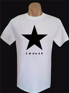David-Bowie-Black-Star-T-Shirt-For-Men-Quality-Gildan-Tee-many-Colors-Sizes