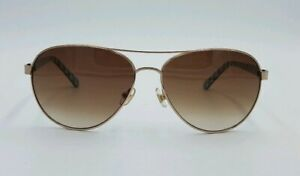 c31384bb6 Image is loading Kate-Spade-Blossom-Aviator-Gold-Brown-Turquoise-58-