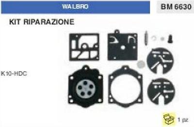 KIT RIPARAZIONE SERIE MEMBRANE membrana CARBURATORE WALBRO K12-WG K 12 WB