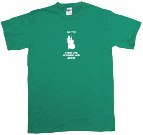 I/'m The Upright Bass Player Everyone Has Warned You About Mens Tee Shirt Pick