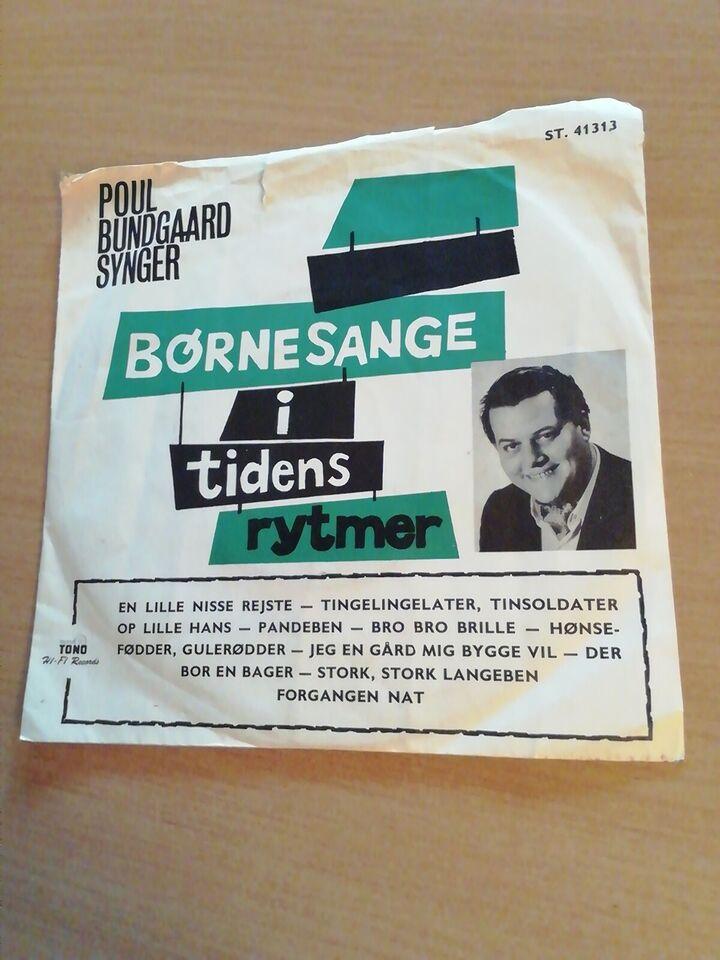 Single, Poul Bundgaard, Synger Børnesange i Tidens Rytmer