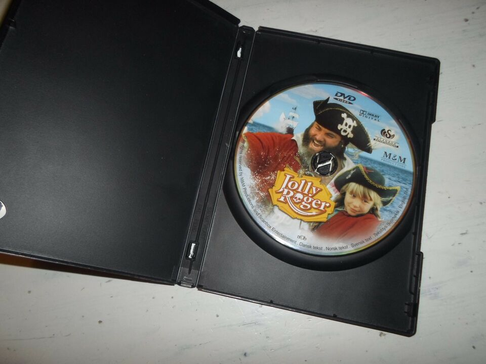 Jolly Roger (dansk film UDGÅET), DVD, eventyr