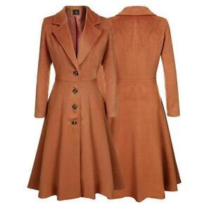 coat Ol risvolto vestito trench formale bavero Womens casual Fit Slim RpOw8WxFS