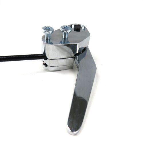 Chrome Latch Release System with Cable And Housing Trunk /& Hood Chevy Ford Dodge