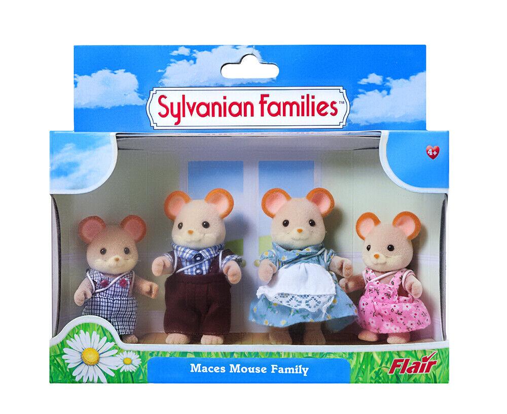 Sylvanian Families Calico Critters Mazas ratón de la familia