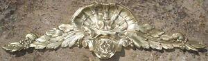 -cornice Architectural Ancien Fronton Ornamental Corniche Bronze Style Louis Xvi Prix Le Moins Cher De Notre Site