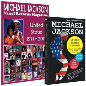 Lot-Michael-Jackson-United-States-Book-Vinyl-Records-Magazine-New