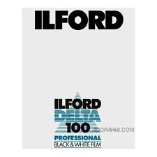 Ilford Delta 100 Size 4x5 Large Format Black & White Negative Film (25)