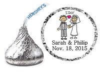 216 Wedding Favors Hershey Kiss Labels Comic 2