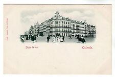 Digue De Mer - Ostende Photo Postcard c1902
