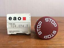 Eao 7040743 Emergency Stop Actuator New In Box