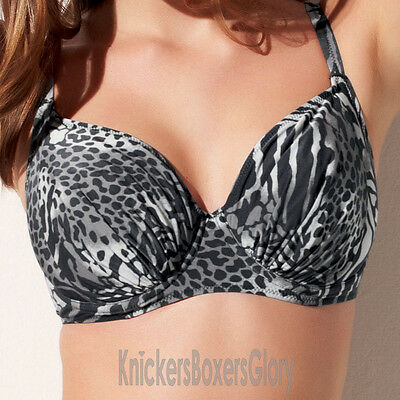 Fantasie Swimwear Nairobi Full Cup Bikini Top Black 5469 NEW Select Size
