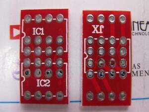 5-pieces-DIP8-Mono-to-DIP8-Dual-opamp-PCB