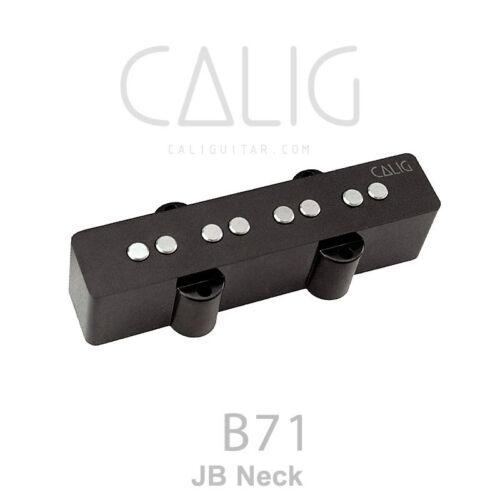 B75 California Bass Pickup Black AlNiCo 5 B71 CALIG caliguitar.com B72