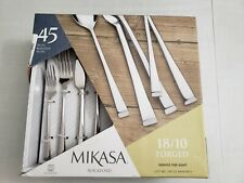 Mikasa Rockford 45-Piece Flatware Set 18//10 forged service for 8