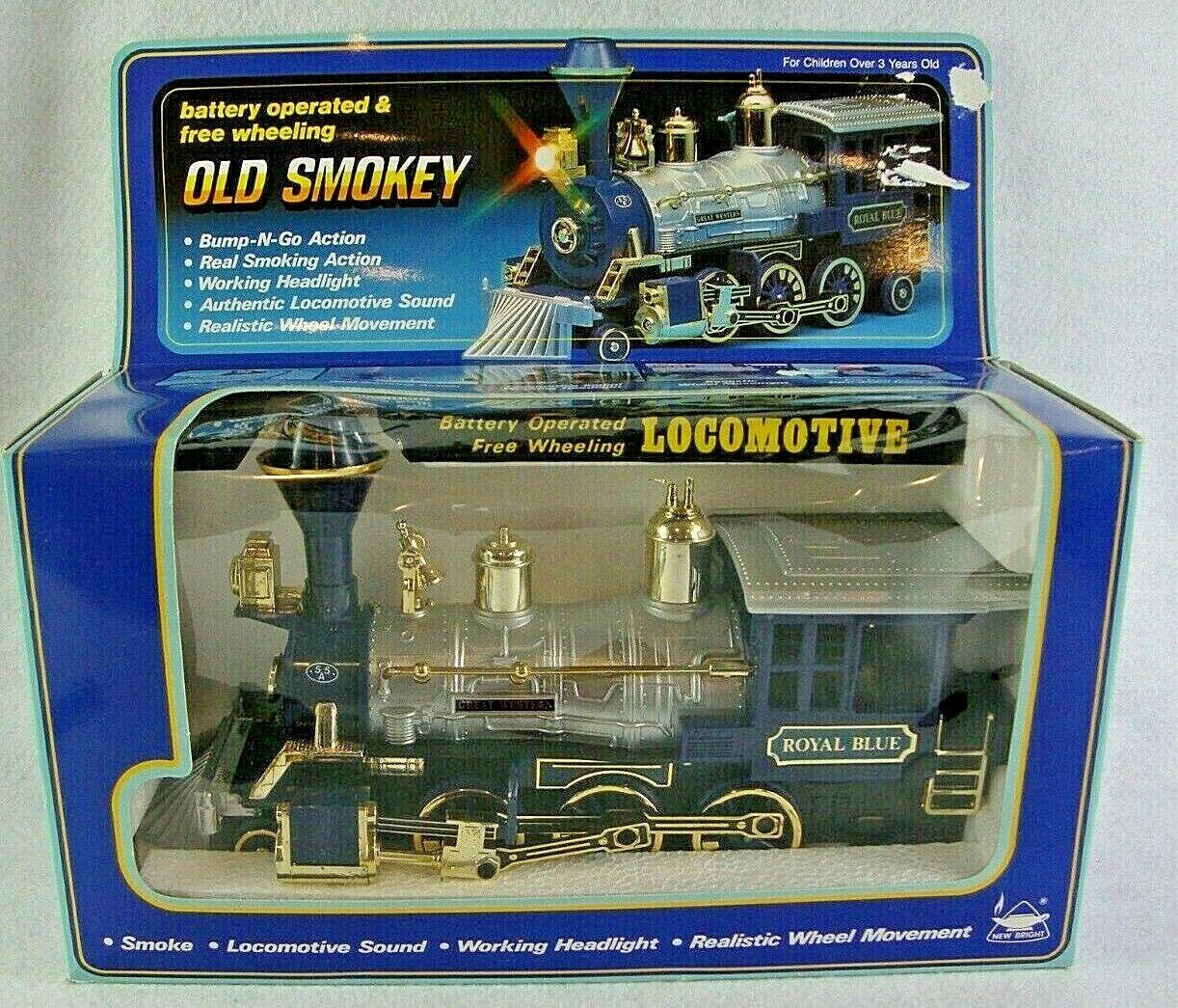Tren Nuevo Motor brillante viejo Smokey Royal Coleccionistas Vintage Locomotora del FerroCocheril