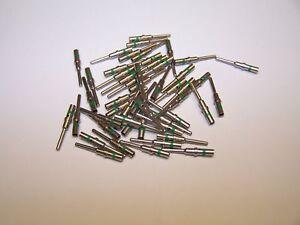 25 Deutsch DT #16 Solid Contact Terminals male pins for 16-18-20 gauge wire