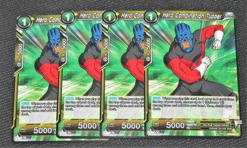 x4 Hero Combination Tupper TB1-086 C Dragon Ball Super TCG Near Mint
