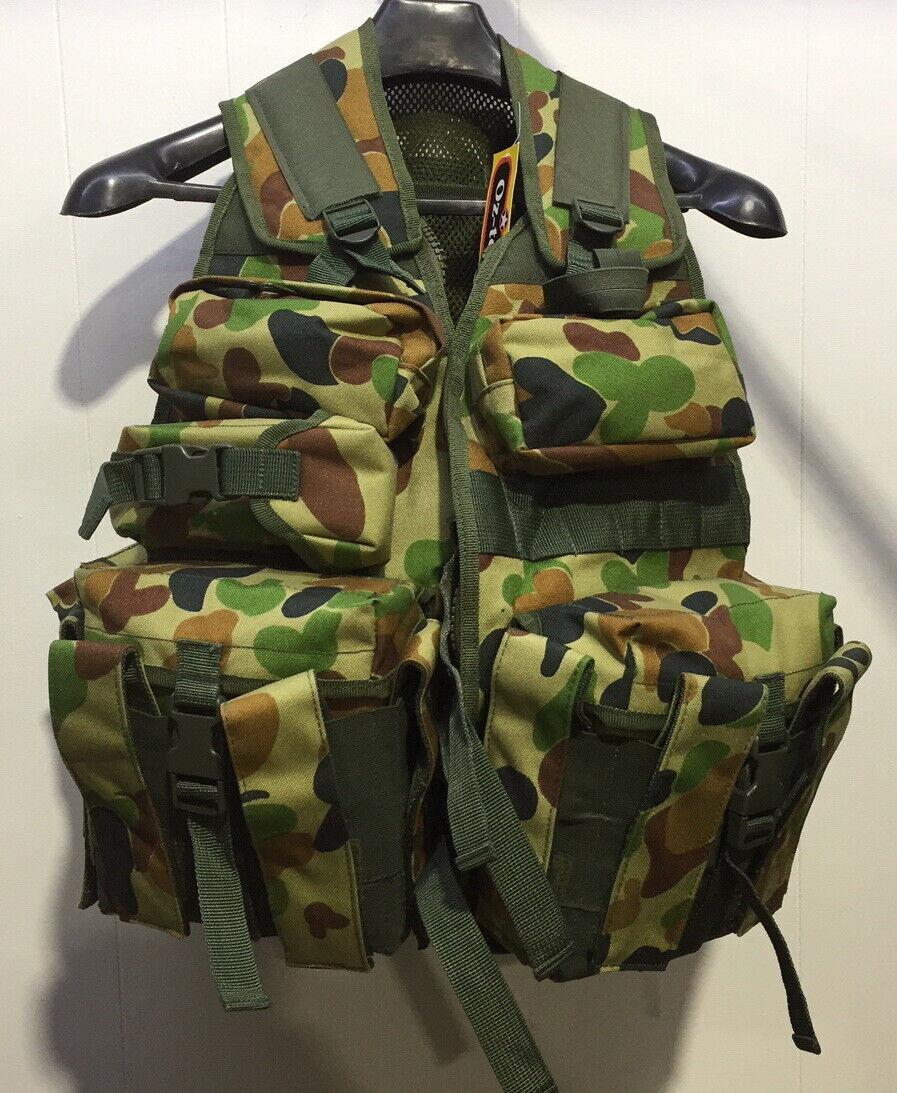 Molle Assault Vest Combat Chest Rig Harness Paintball Combat Molle Vest NEW