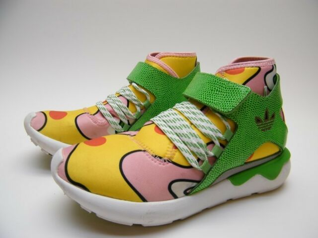 ADIDAS JEREMY SCOTT TUBULAR GREEN YELLOW