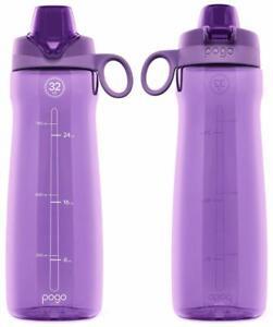 5674fa7b1d Pogo Tritan Water Bottle, 32 Oz. 810922020181 | eBay