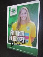 68528 Antonia Albisser SC Kriens Damen original signierte Autogrammkarte