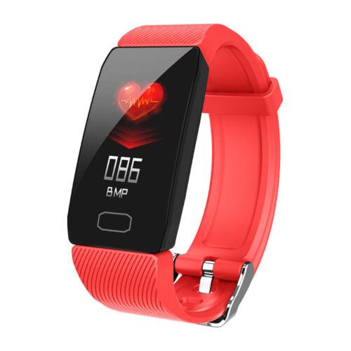 Smartwatch Fitness Smart Armband Tracker Wasserdicht Sportuhr für IOS Android