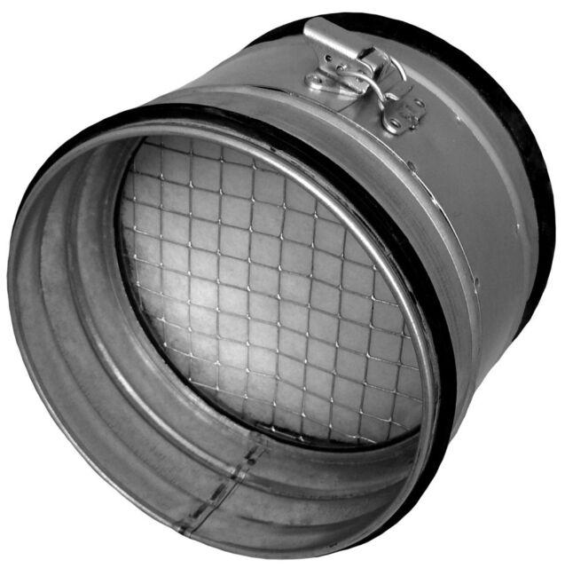 Bundkragen Flansch 63-450 mm mit Dichtung f/ür Wickelfalzrohr Aluflexrohr 63 mm