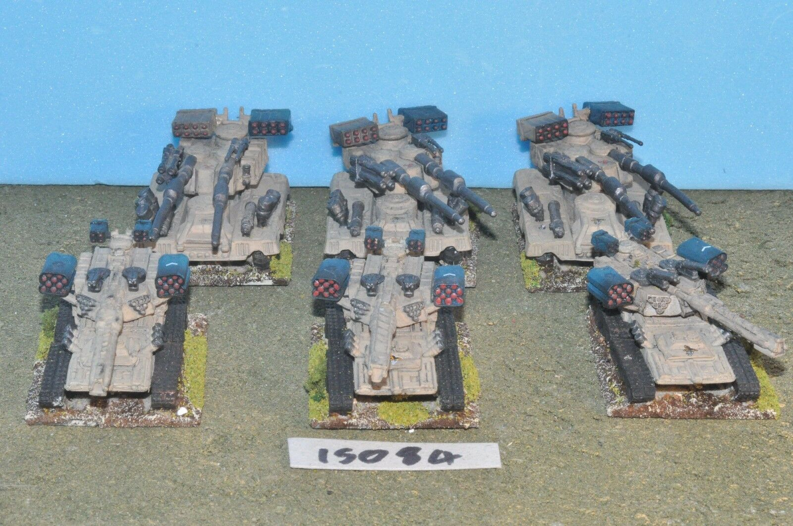 oferta especial MECHWARRIOR Battletech Dropzone Dropzone Dropzone comandante 6 tanques pesados (15084) Fasa RAL PARTHA  connotación de lujo discreta