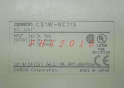 ONE CS1W-NC113 CS1WNC113 Omron Brand NEW