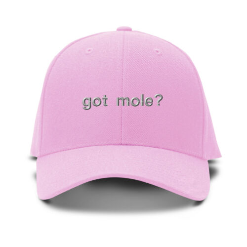 Embroidery Embroidered Adjustable Hat Cap Got Mole