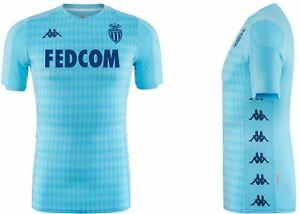 AS MONACO Kappa Official Away Football Shirt 2019-2020 NEW Maillot Exterieur