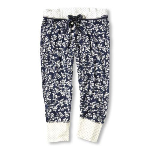 MUSTANG Damen Pyjamahose Schlafanzughose Capri Pants Reese S M L XL