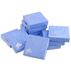 1/5/10 PCS Quadrate Paperboard Beauty Jewellery Bracelet Case Storage Box Gift