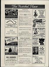 1950 PAPER AD Buck Rogers Sonic Ray Gun Commonwealth Utilities Co Cisco Kid