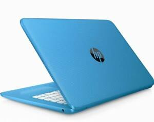 HP-Ordinateur-portable-Stream-14-034-ecran-Intel-Celeron-4-Go-RAM-32-Go-eMMC-Windows-10-Bleu
