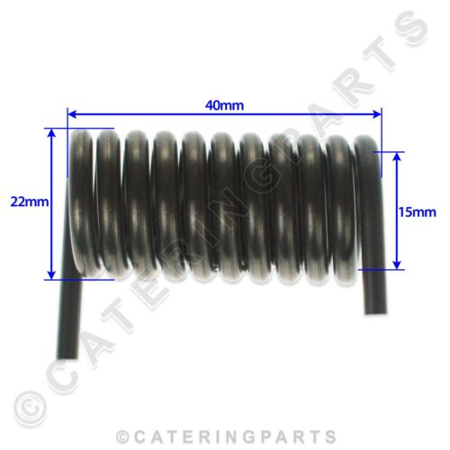 RIGHT AND LEFT SPRINGS 22mm x 40mm SIRMAN CONTACT GRIDDLE PANINI GRILL LID