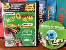 Coffindans Slash O Rama Drive-In! Trailer compilation. Slashers, blood fiends!