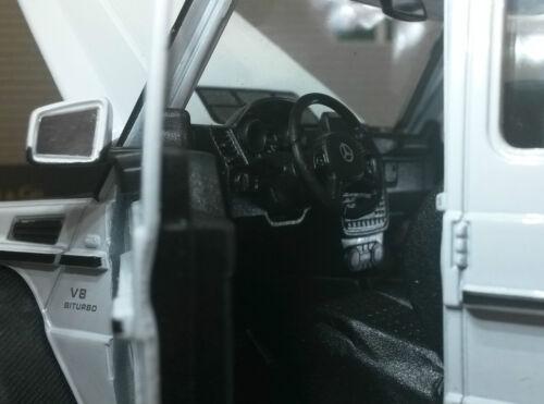 Gold 1:24 modèle à l/'échelle Mercedes G Class Wagon AMG G 63 6x6 Welly Die-Cast 24061