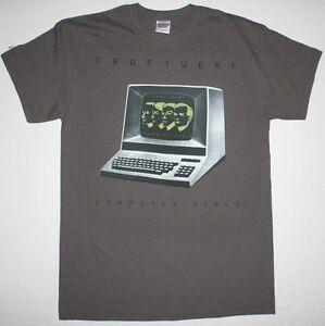 KRAFTWERK COMPUTER WORLD /'81 DEPECHE MODE HUMAN LEAGUE NEW GREY T-SHIRT