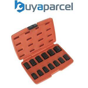 Sealey AK5613M Impact Socket Set 13 Piece 1/2inch Sq Drive Metric