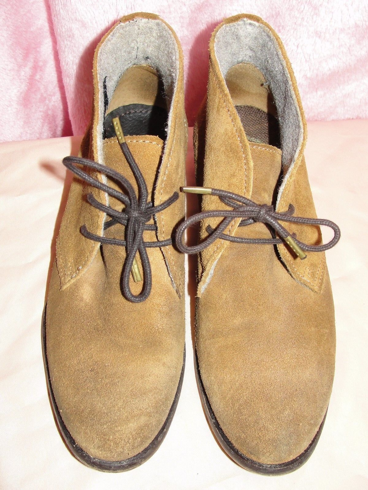 Superdry Suede Leather boots - size eur 37
