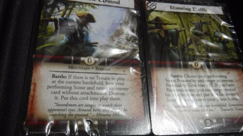 sealed cards only L5R CCG Forgotten Legacy complete