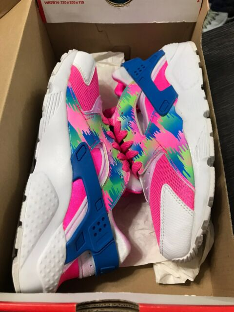 Nike Huarache Run Print Rose Blast Size