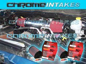 02 03 04 05 06 07 08 09 10 DODGE RAM 1500 4.7L V8 COLD AIR INTAKE STAGE 1+K/&N